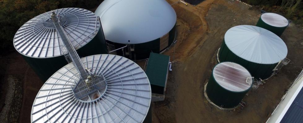 Une nouvelle unité de méthanisation vient compléter la construction du site pilote de la SEM Liger à Locminé en Bretagne
