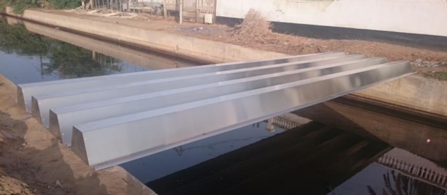 Réservoirs d'eau potable et couvertures dans le cadre du projet de réhabilitation et d'extension du réseau d'eau potable de la ville de Djibouti