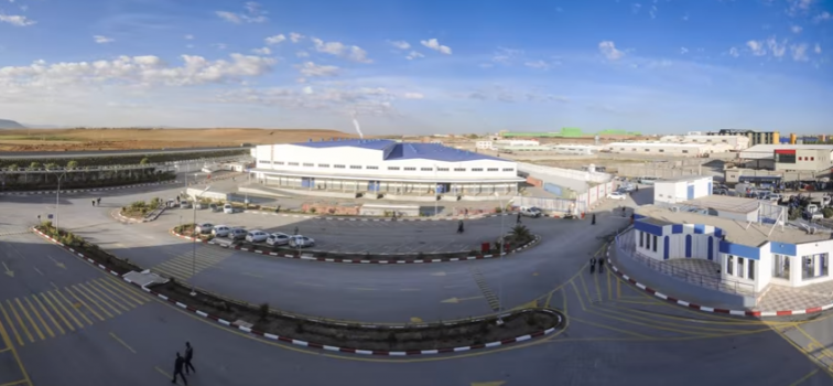 Réservoirs d'eau potable pour l'alimentation du nouveau site de Brandt à Sétif en Algérie
